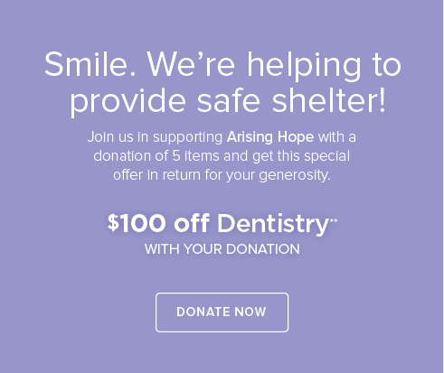Arising Hope Charity Drive - Marketplace Dental Group and Orthodontics